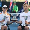 Andy Lapthorne And David Wagner Quad Doubles Trophy